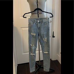 Topshop denim. Lightly used. Purchase 2019